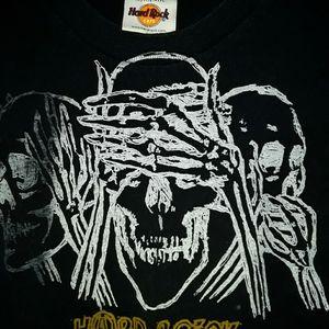 Hard rock cafe long sleeve shirt.